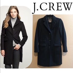 J. Crew Peacoat Wool Nello Gori Coat Thinsulate 0